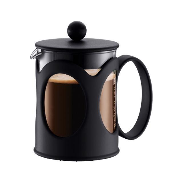 BODUM cafetière à piston 4 tasses 0,5l noir - 10683-01