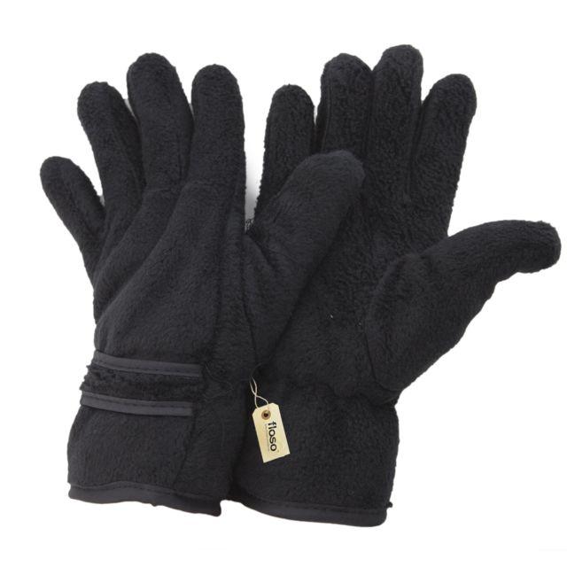 d81625ed0ca7d Generic - Floso - Gants thermiques en polaire Thinsulate 3M 40g Femme  Taille unique, Noir Utmg-33C - pas cher Achat / Vente Gants, mitaines -  RueDuCommerce