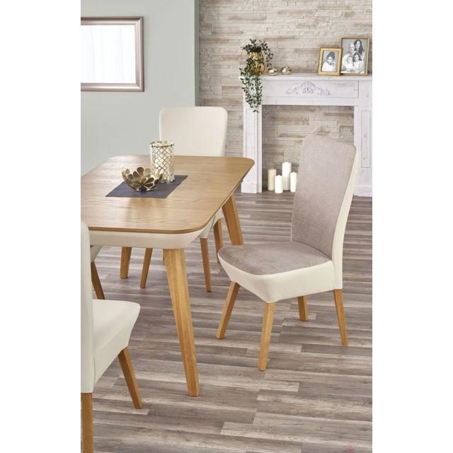 p85 rectangulaire cm bois chene miel cm cm – extensible ÷ 190 a Table h76 – manger x x l140 qVpSzMU