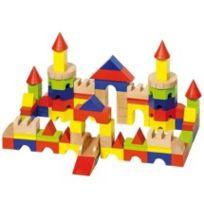 Goki - Jeu de construction bois Château 78 pièces