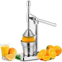 Rocambolesk - Superbe Presse-citrons oranges en acier inoxydable jus de fruits - antidérapant neuf