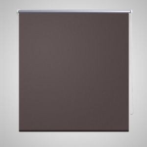 Rocambolesk - Superbe Store enrouleur occultant 100 x 175 cm marron Neuf
