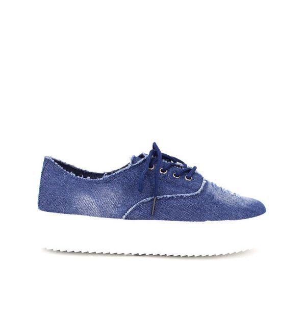 Cendriyon Basket Slippers Blue Like'S