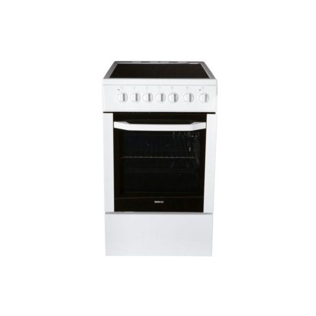 beko cuisini re vitroc ramique css57100gw achat vente. Black Bedroom Furniture Sets. Home Design Ideas