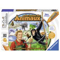 RAVENSBURGER - Tiptoi Jeux Sur la trace des animaux - 00536