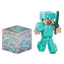 Minecraft - Overworld - Diamond Steve - Figurine Articulée 7 cm Import Royaume-Uni