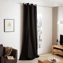 Comptoir des toiles - Rideau à œillets 100% coton bachette 135x260cm Ines