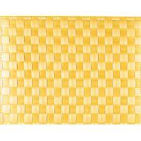 Saleen - Set De Table Tissé 40x30 Cm - Citron