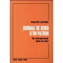 Francois Bourin - journal de bord d'un patron