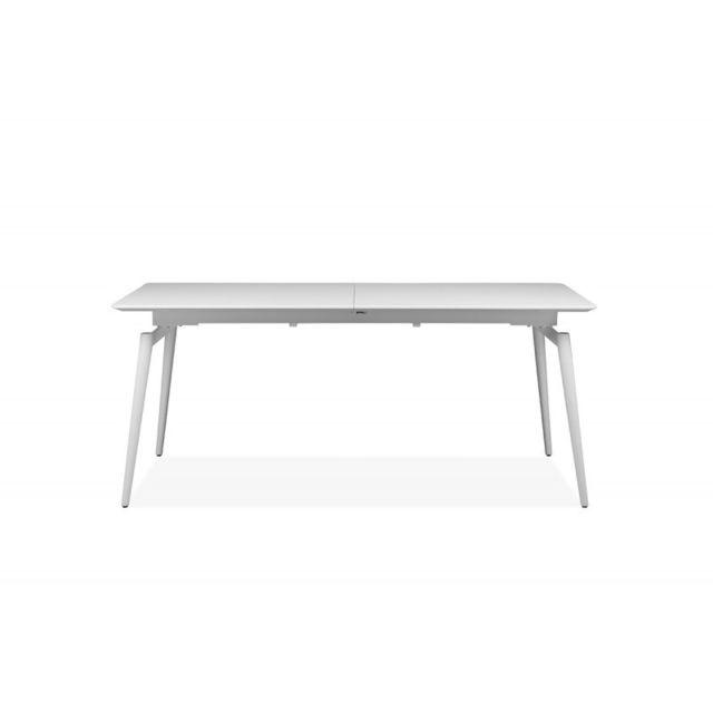 Meubletmoi Table de dîner extensible - Snow