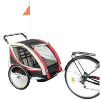 Bike Original - Remorque aluminium 2 en 1