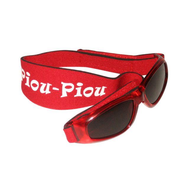 Piou-piou - Lunettes pour enfant 2 à 5 ans - Rouge - pas cher Achat   Vente  0-3 ans - RueDuCommerce 76d0622e4a18