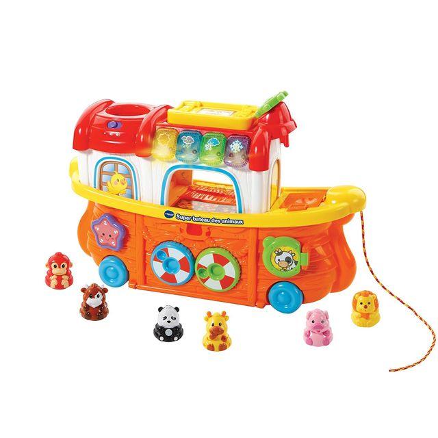 VTECH BABY Tut Tut Animo - Super bateau des animaux - 504505