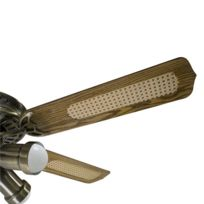 ventilateur de plafond achat ventilateur plafond pas cher rueducommerce. Black Bedroom Furniture Sets. Home Design Ideas
