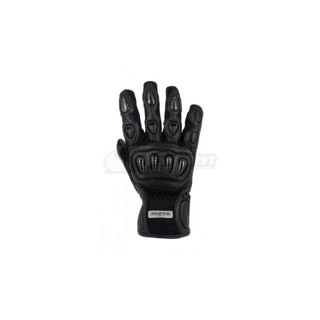 paire de gants coqués en cuir tissus taille M 8