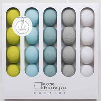 La Case De Cousin Paul - Guirlande Lumineuse Otis Led - 20 boules