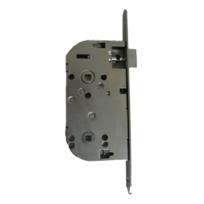 EURO-ELZETT - Coffre axe 50 NF métalux clé L gauche aspect inox même variure - sans gache réversible - G840X2D7K4L ROZ