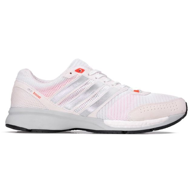 low priced ed818 7b752 Adidas - Adizero Ace 7 Wide Blanc - pas cher Achat   Vente Chaussures  running - RueDuCommerce