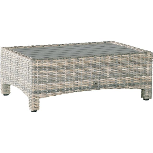 Comforium table basse de jardin en r sine tress e coloris lagun paca locations de vacances Table basse de jardin en resine