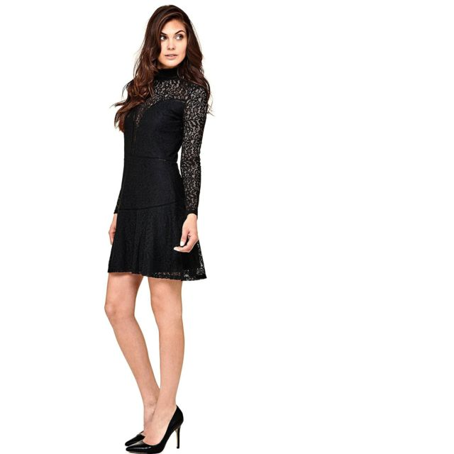a6526606ef4 Guess - Robe Odessa Noir - Taille - Xs - pas cher Achat   Vente ...