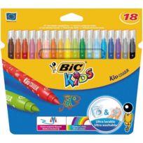 Bic - Kids Kid Couleur Etui Carton De 18 Feutres De Coloriage