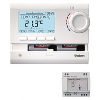 Theben - Thermostat programmable à commande radio - Ramses 833 Top2 Hf