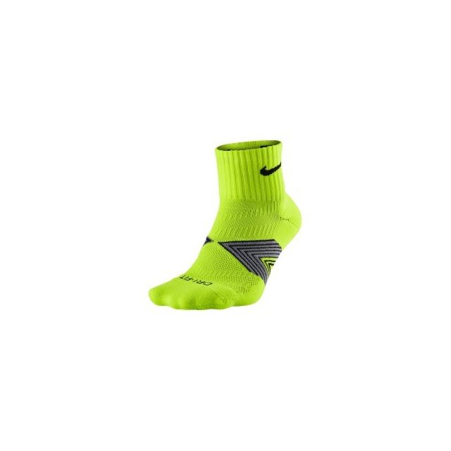 en soldes 7220e d5752 Nike - Chaussettes Dri-FIT Cushioned jaune fluo - pas cher ...