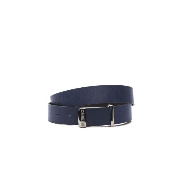 4665629f563a Bikkembergs - Ceinture Bleu Marine 7ADD1852 - Taille vêtements - S - pas  cher Achat   Vente Ceinture homme - RueDuCommerce