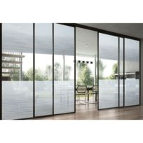 Lineafix - Film décoratif vitrostatique Garbi - 150 x 92 cm - Transparent