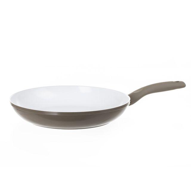 Secret De Gourmet Poele - Aluminium forgé et céramique - Diam. 28 cm