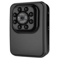 Wewoo - Caméra sport noir Full Hd 1080 P 2.0MP Mini Caméscope d'Action, 120 Degrés Grand Angle, Soutien Vision Nocturne / Détection de Mouvement