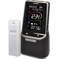 La Crosse - Technology - Station météo avec écran Lcd coloré avec haut parleur Bluetooth Ws6890