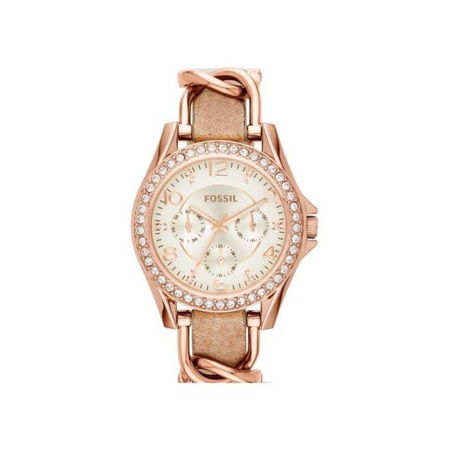 montre bracelet femme cuir