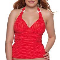 Curvy Kate - Haut de maillot tankini avec armature Plain Sailing Flame Spot