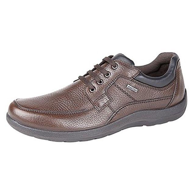 Imac Chaussure décontractée a lacets en cuir - Homme 46 Eu, Marron Utdf1183