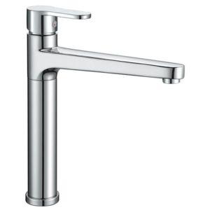 robinet mitigeur pour vier de cuisine laiton chrom bec haut pas cher achat vente robinet. Black Bedroom Furniture Sets. Home Design Ideas