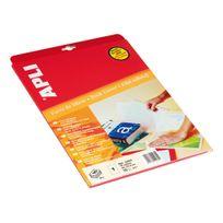 Apli - Pochette 10 feuilles film adhésif A4