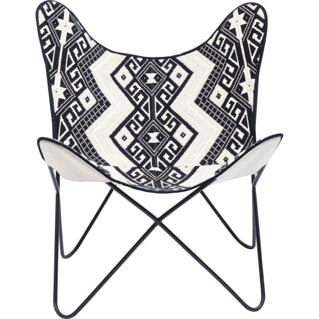 Karedesign Fauteuil Butterfly Ethno Kare Design
