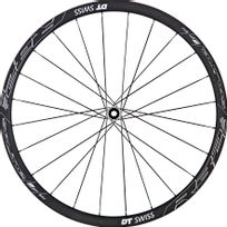 "Dt Swiss - R 32 Spline Disc Brake - Roue - 28"" roue avant alu 100/15 mm blanc/noir"