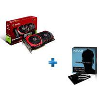 MSI - GeForce GTX 1060 GAMING X 6G + KFA2-GAMERL-120GB-TLC S11