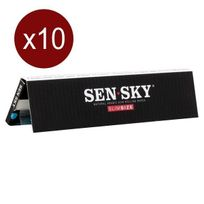 Sensky - Bte De 10 Carnets Feuilles Slim 32F/CARNET