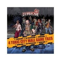 Guillotine Games - 331542 - Zombicide - 4 Toxic City Mall Game Tiles