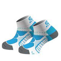 Bv Sport - Socquettes Running Rsx Bleues Chaussettes Running