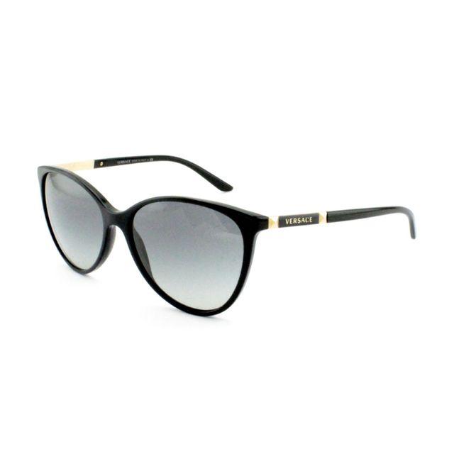d92ca1574af317 Versace - 4260 Gb1 11 - Lunettes de soleil femme Noir - pas cher Achat   Vente  Lunettes Tendance - RueDuCommerce