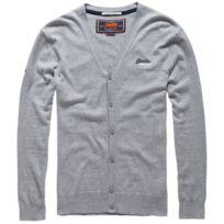 Superdry - Orange Label Gilet Homme - Taille Xl - Gris