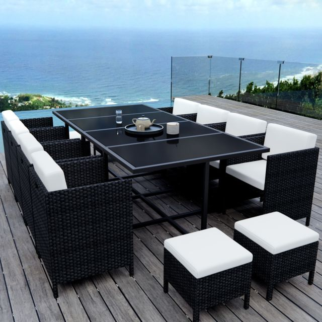 Ims Garden - Munga 12 Places - Ensemble encastrable salon / table de ...