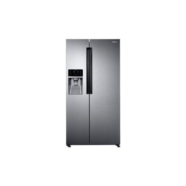 Samsung Rs58k6307sl-refrigerateur Americain-575 L 395 + 180 L-froid Ventile Integral-a+-l 90,8 X H 182,5 Cm-inox Premium