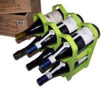 Drinkcase - Casiers 6 bouteilles - Vert Kiwi