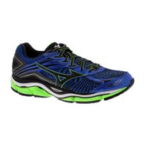 Mizuno - Wave Enigma 6 Bleue Et Verte Chaussures de running homme