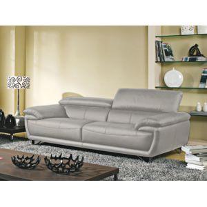 la maison du canap canap cuir 3 places baya cuir. Black Bedroom Furniture Sets. Home Design Ideas